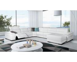 Trenton - Reclining Sectional Sofa Leather